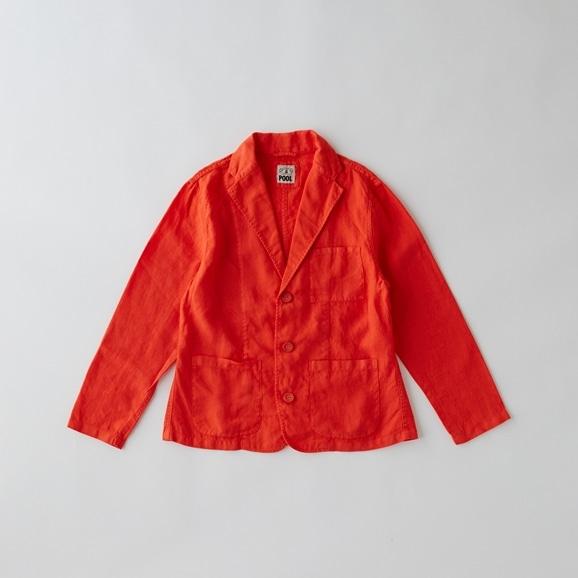 【写真】POOL いろいろの服 ジャケット レディス ヴィヴィッドレッド