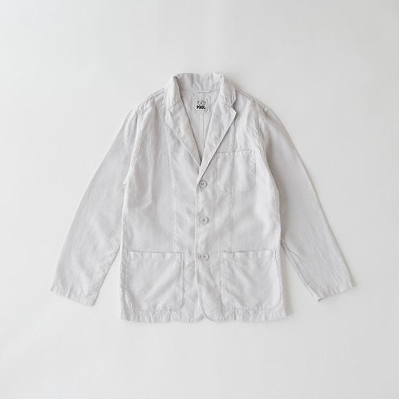 【写真】POOL いろいろの服 ジャケット メンズ ライトグレー