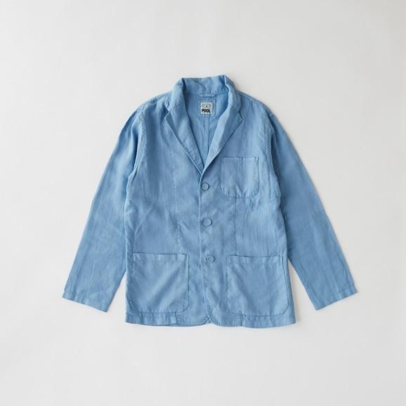 【写真】POOL いろいろの服 ジャケット メンズ スカイブルー