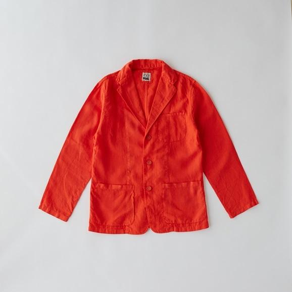 【写真】POOL いろいろの服 ジャケット メンズ ヴィヴィッドレッド
