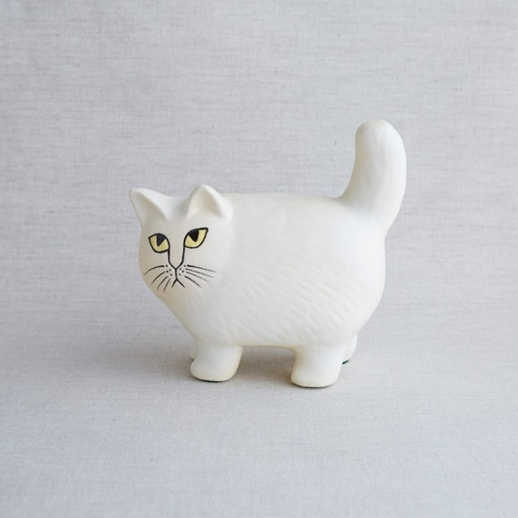 【写真】【定番品】Lisa Larson Cat Moa White