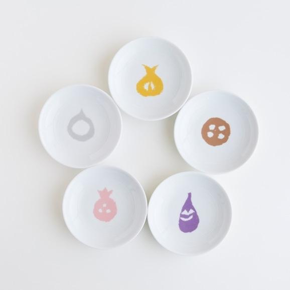 【写真】POOL コロコロのもの 小皿5枚セット 柚木沙弥郎