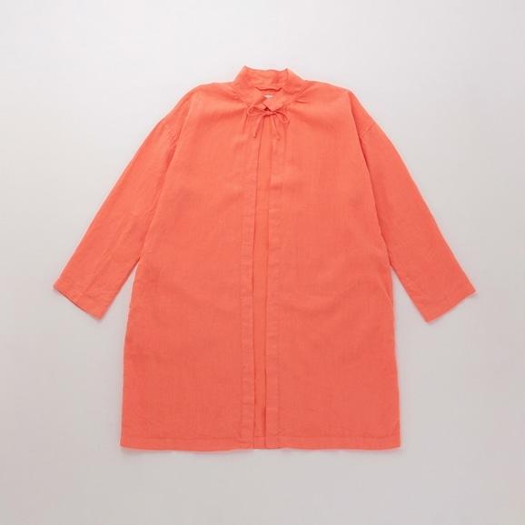 【写真】POOL いろいろの服 コート コーラルオレンジ