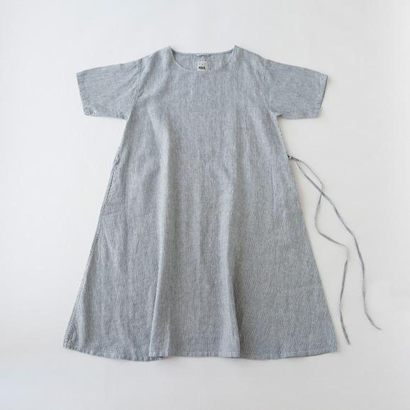 【写真】POOL いろいろの服 ワンピース ストライプ ブルー