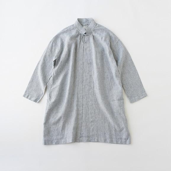 【写真】POOL いろいろの服 コート ストライプ ブルー