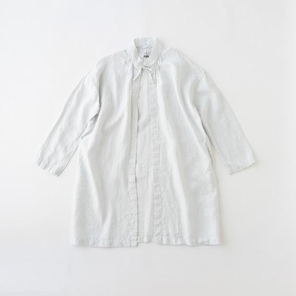 【写真】POOL いろいろの服 コート ストライプ ライトブルー