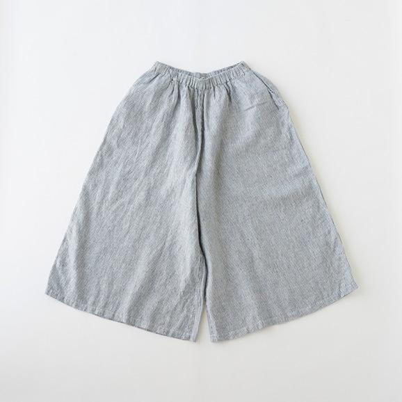 【写真】POOL いろいろの服 ワイドパンツ ストライプ ブルー