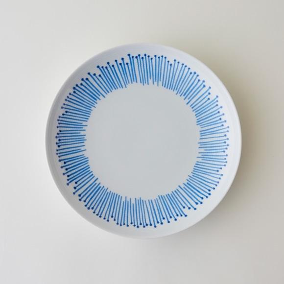 【写真】POOL コロコロのもの cento fiori 白磁皿 (大)
