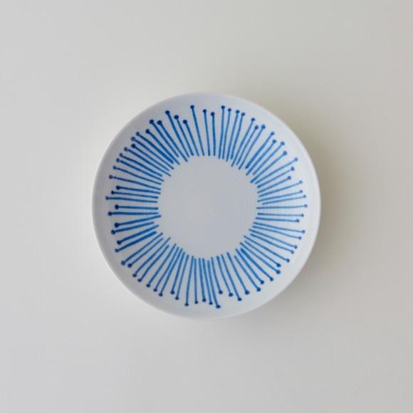 【写真】POOL コロコロのもの cento fiori 白磁皿 (小)