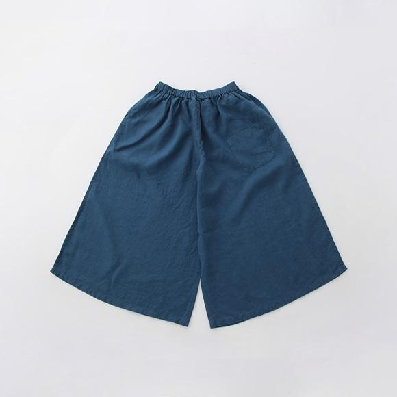 【写真】【旧仕様】POOL いろいろの服 ワイドパンツ ブルー