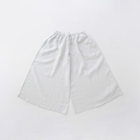 【写真】【旧仕様】POOL いろいろの服 ワイドパンツ アイス