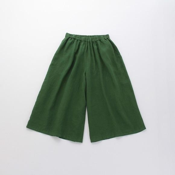 【写真】【旧仕様】POOL いろいろの服 ワイドパンツ アイビーグリーン