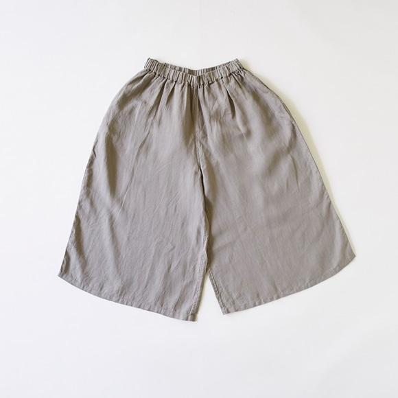【写真】POOL いろいろの服 ワイドパンツ ミディアムグレー
