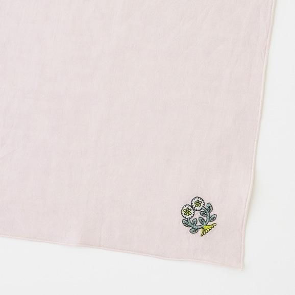 【写真】POOL Everyday ハンカチ フラワーズ ピンク
