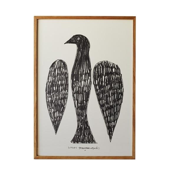 【写真】【一点物】山口 一郎 「black bird」