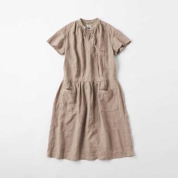【写真】POOL いろいろの服 プチスリーブワンピース ミディアムグレー