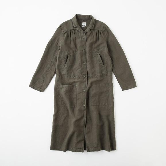 【写真】POOL いろいろの服 ワークコート  チャコール