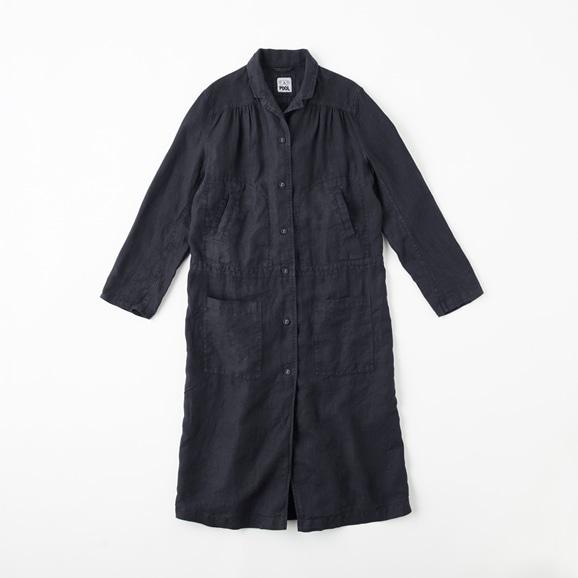 POOL いろいろの服 ワークコート  ネイビー