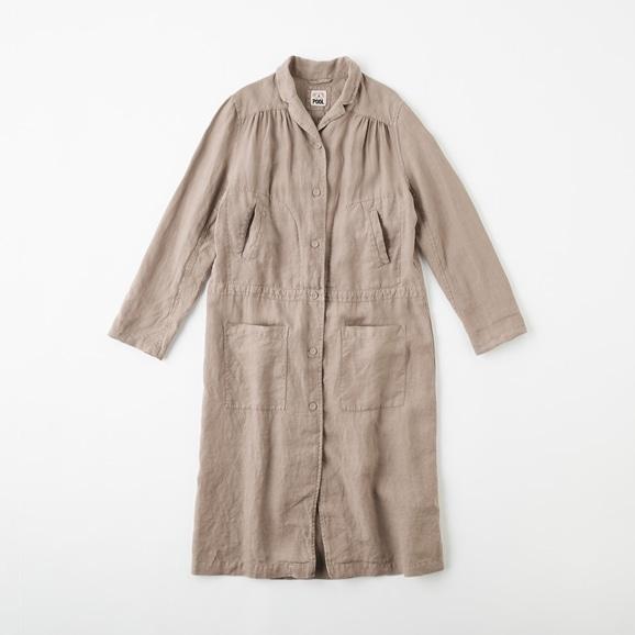 【写真】POOL いろいろの服 ワークコート  ミディアムグレー