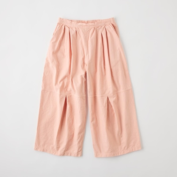 【写真】POOL いろいろの服 ニータックワイドパンツ ピンクベージュ