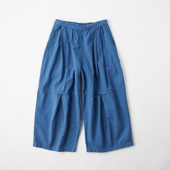 【写真】POOL いろいろの服 ニータックワイドパンツ インディゴブルー