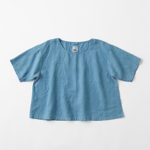 【写真】POOL いろいろの服 ブラウス ブルーグレー