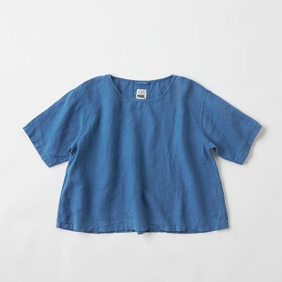 【写真】POOL いろいろの服 ブラウス インディゴブルー