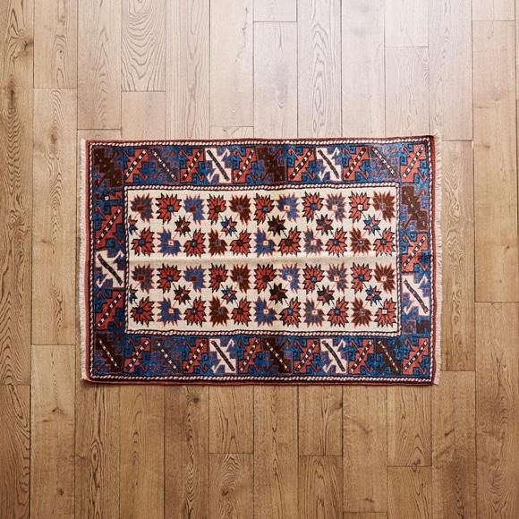 【写真】【一点物】トルコ絨毯 119×90 【1152】