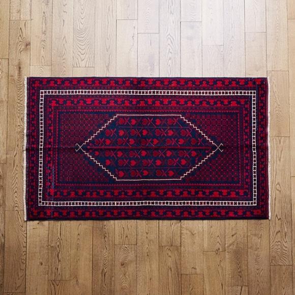 【写真】【一点物】トルコ絨毯 167×107 【1156】