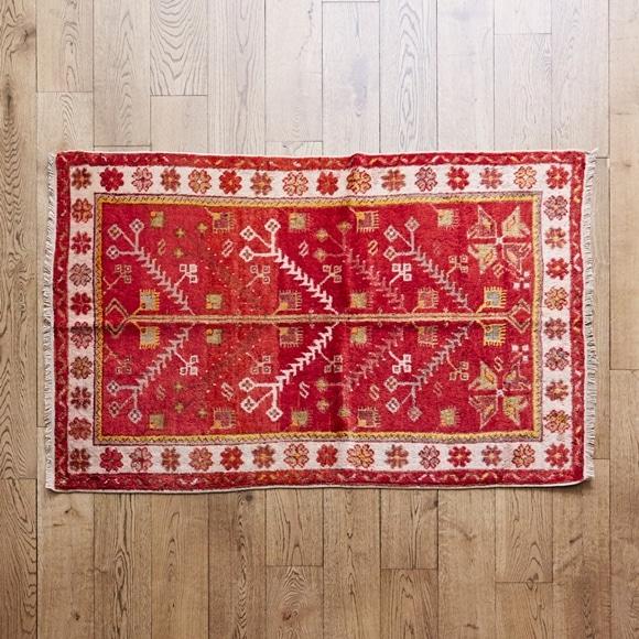 【写真】【一点物】トルコ絨毯 140×96 【143】