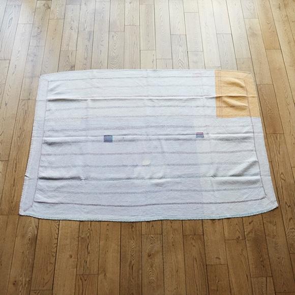 【写真】【一点物】インド ヴィンテージ ラリー キルト 192×137