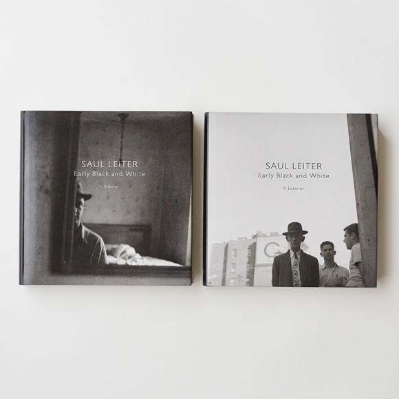 【写真】SAUL LEITER Early Black and White (2冊組)