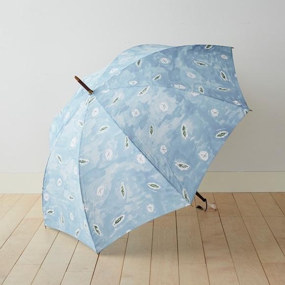 【写真】イイダ傘店 雨傘 アメンボ ブルー