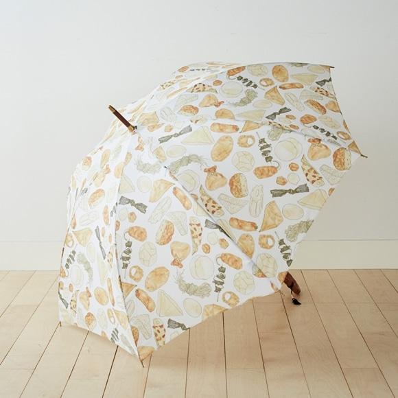 【写真】イイダ傘店 雨傘 おでん 京風