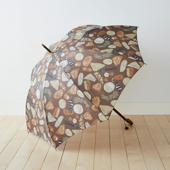 【写真】イイダ傘店 雨傘 おでん 秘伝