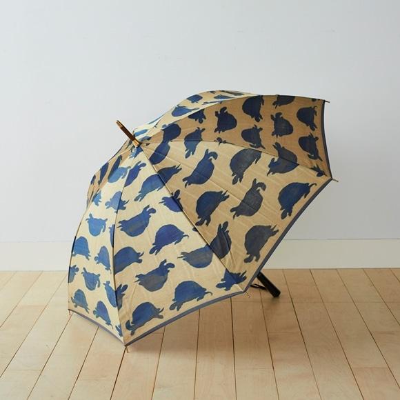 【写真】イイダ傘店 雨傘 カメ 金