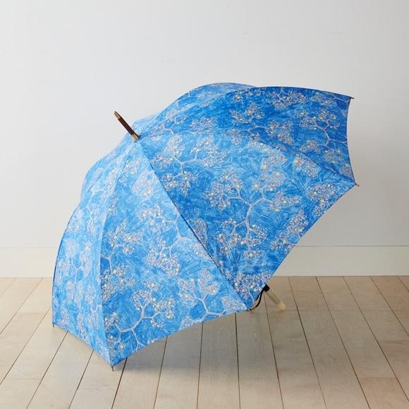 【写真】イイダ傘店 雨傘 ヤブカラシ ブルー