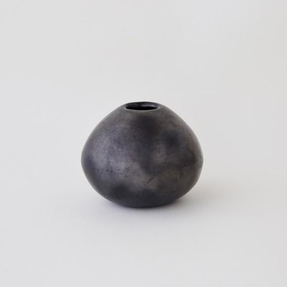 【写真】【一点物】黒陶 バロ・ネグロ デコール 09A
