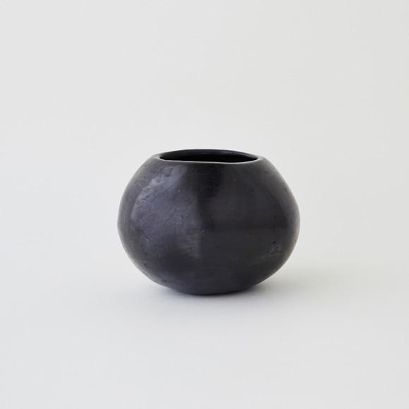 【写真】【一点物】黒陶 バロ・ネグロ デコール 09B