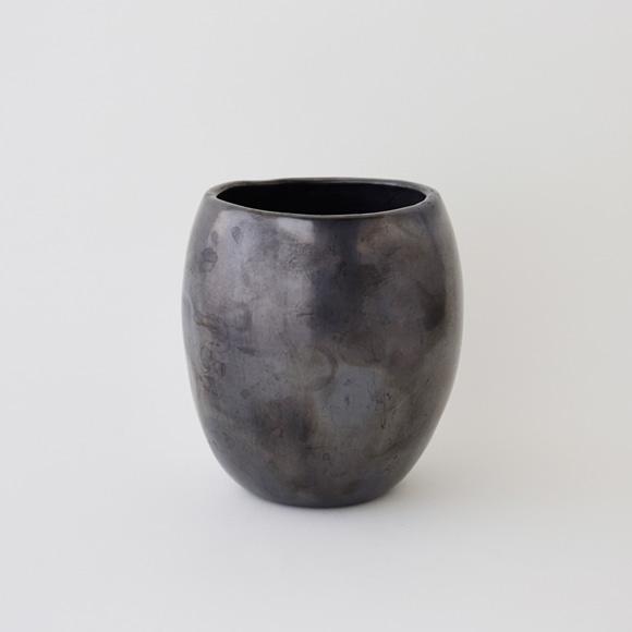 【写真】【一点物】黒陶 バロ・ネグロ デコール 19B