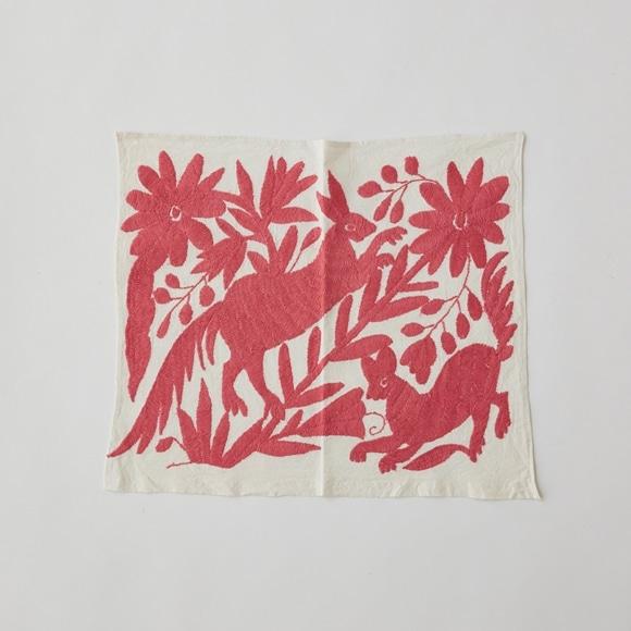 【写真】【一点物】オトミ刺繍 タペストリー S2