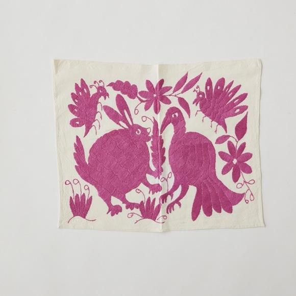 【写真】【一点物】オトミ刺繍 タペストリー S7