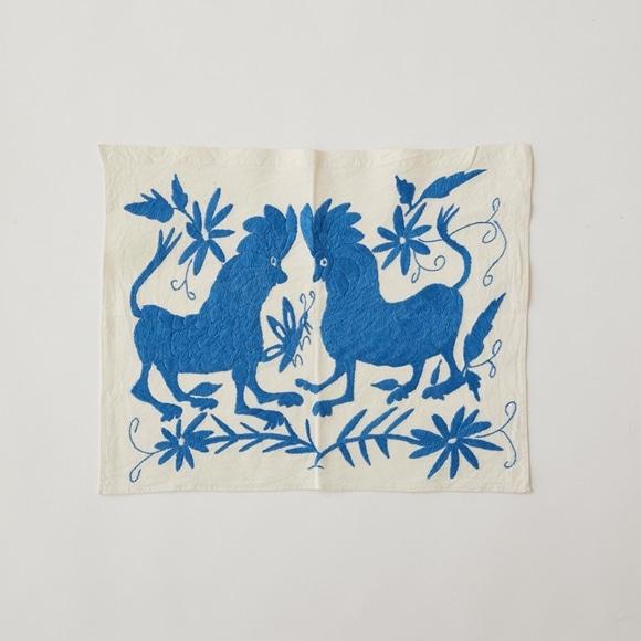【写真】【一点物】オトミ刺繍 タペストリー S12