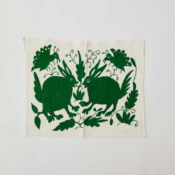 【写真】【一点物】オトミ刺繍 タペストリー S21