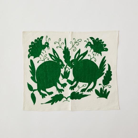 【写真】【一点物】オトミ刺繍 タペストリー S22