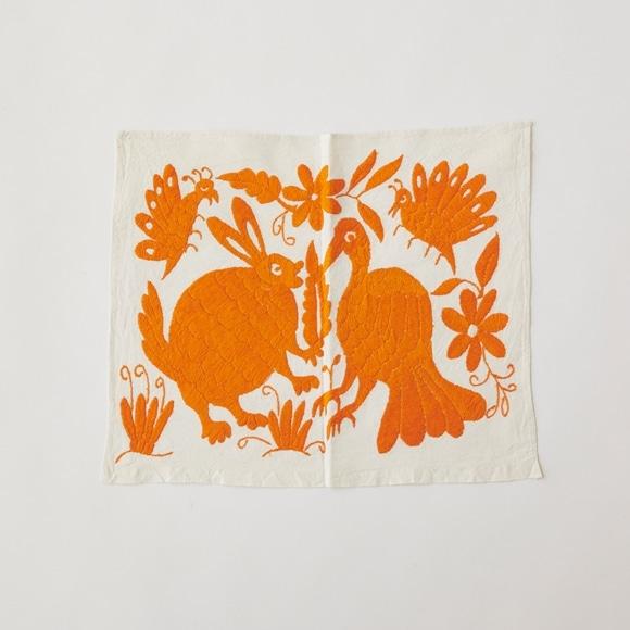 【写真】【一点物】オトミ刺繍 タペストリー S27