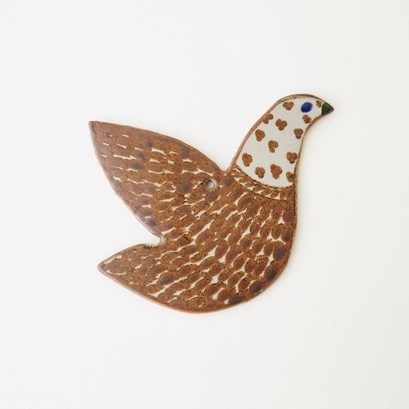 【写真】【一点物】トナラ 壁掛け 鳥 39