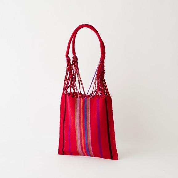 【写真】【一点物】織物バッグ 15