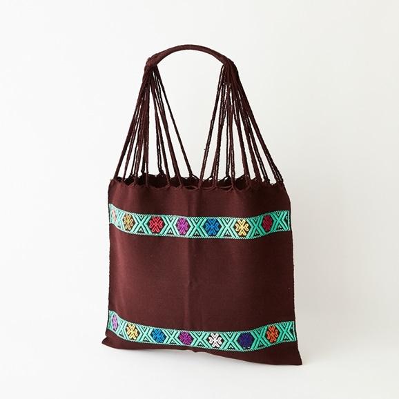 【写真】【一点物】織物バッグ 23