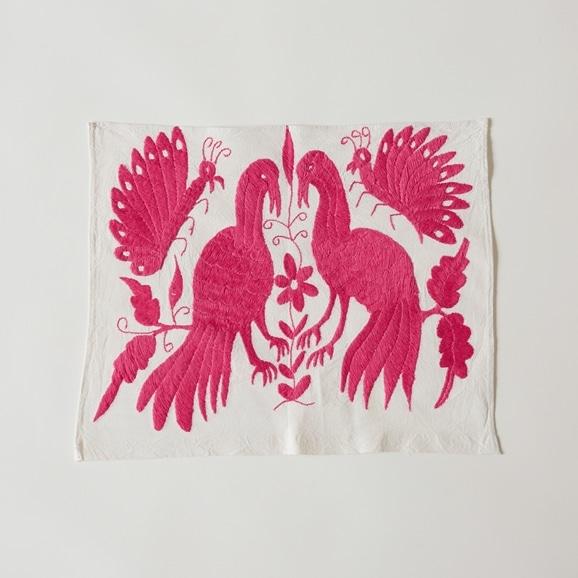 【写真】【一点物】オトミ刺繍 タペストリー S5